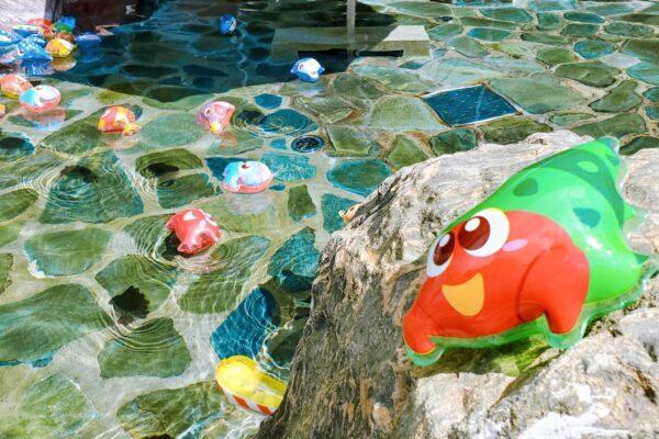 「水族館風呂」実施中です